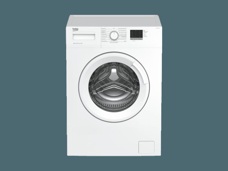 BEKO WML 16106 N Waschmaschine (6 kg, 1000 U/Min., A+)