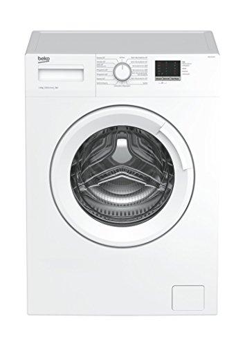 Beko WML 16106 N Waschmaschine Frontlader / 6kg / A+ / 1000 UpM / Mengenautomatik / weiß / 49 cm tief / Reversierende Trommel / LED Display