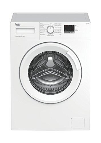 Beko WML 61023 N Waschmaschine Frontlader/6kg/A+++/1000 UpM/Mengenautomatik/elektronische Kindersicherung/15 Programme/Startzeitvorwahl/Express-Programm 30 Minuten/weiß