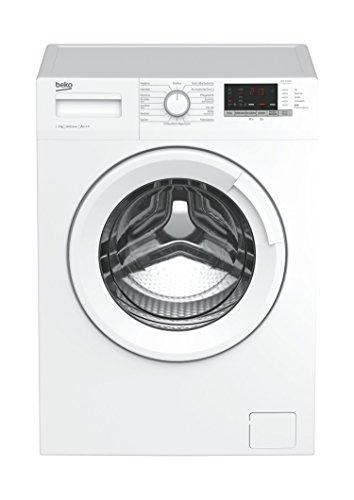 Beko WML 71433 NP Waschmaschine Frontlader/7kg/A+++/1400 UpM/Mengenautomatik/Pet Hair Removal/15 Programme/Watersafe/Kindersicherung/nur 45cm tief/weiß