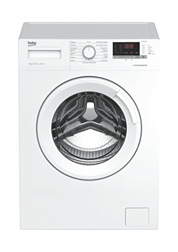 Beko WML 81633 NP Waschmaschine Frontlader / 8kg / A+++ / 1600 UpM / StainExpert / Mengenautomatik / Pet Hair Removal / Watersafe / ProSmart Inverter Motor / weiß