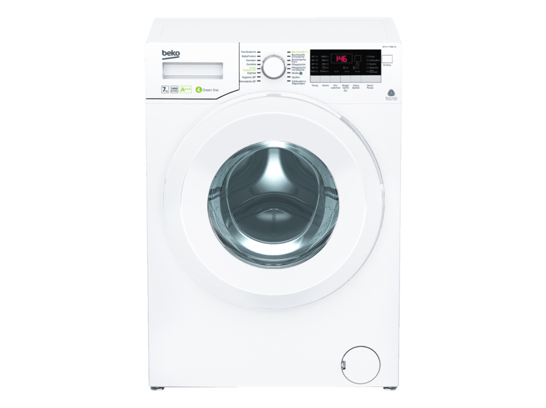 BEKO WYA 71483 LE Waschmaschine (7 kg, 1400 U/Min., A+++)