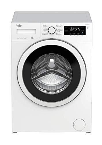Beko WYA 71493 LE Waschvollautomat Frontlader / 7 kg/Digitales Touch-Display/ProSmart Inverter Motor/XL-Tür - 34 cm groß / 16 Waschprogramme/Aquawave Schontrommel