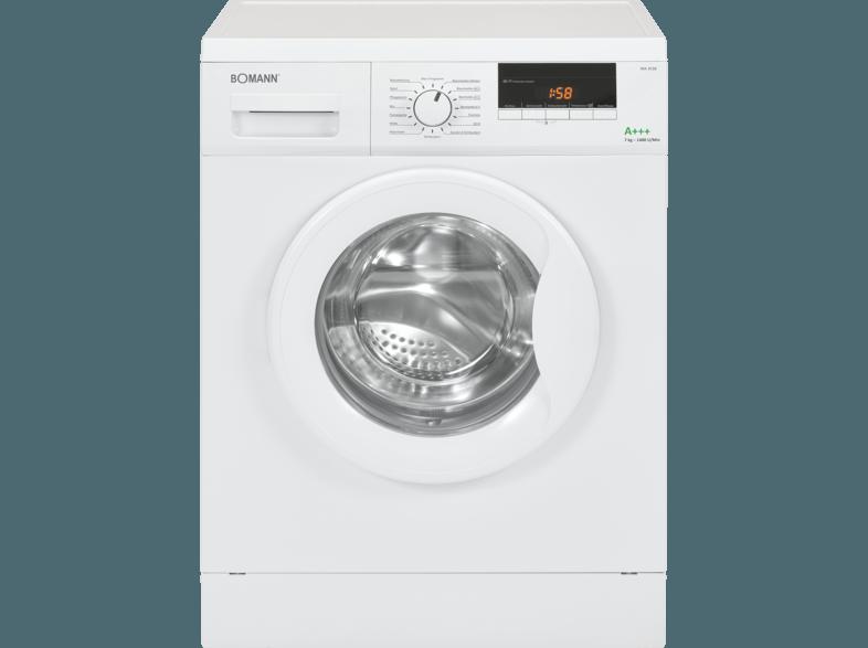BOMANN WA 5729 Waschmaschine (7 kg, 1400 U/Min., A+++)