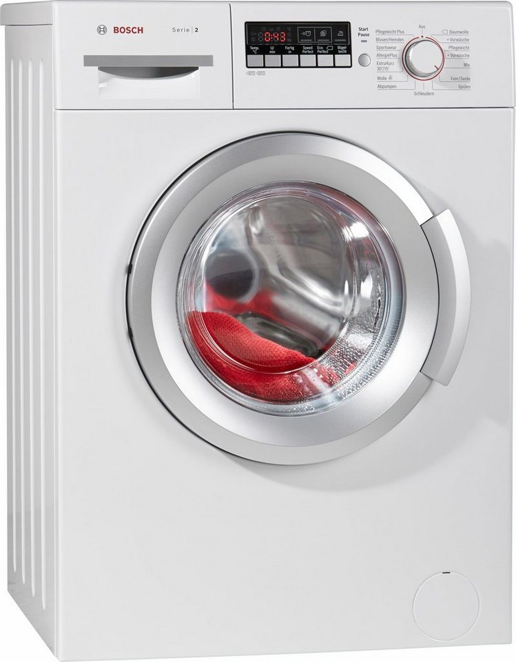 BOSCH Waschmaschine Serie 2 WAB282V1, 6 kg, 1400 U/Min