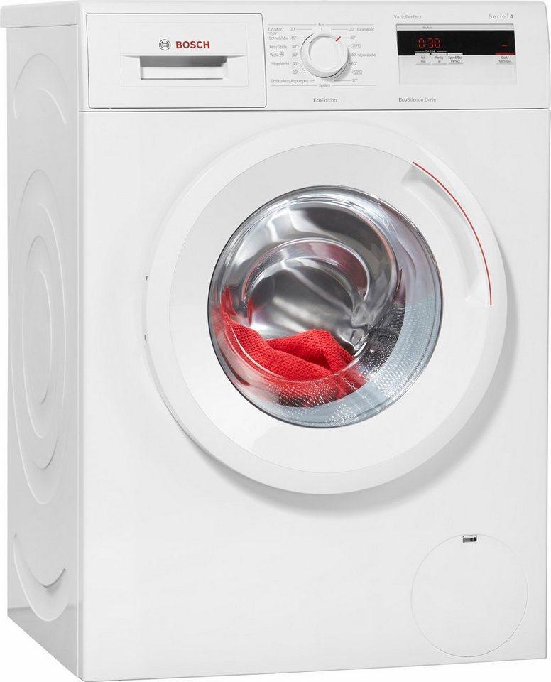 BOSCH Waschmaschine Serie 4 WAN280ECO, 6 kg, 1400 U/Min