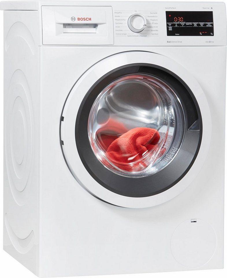 BOSCH Waschmaschine Serie 6 WAT284V1, 8 kg, 1400 U/Min, aquastop