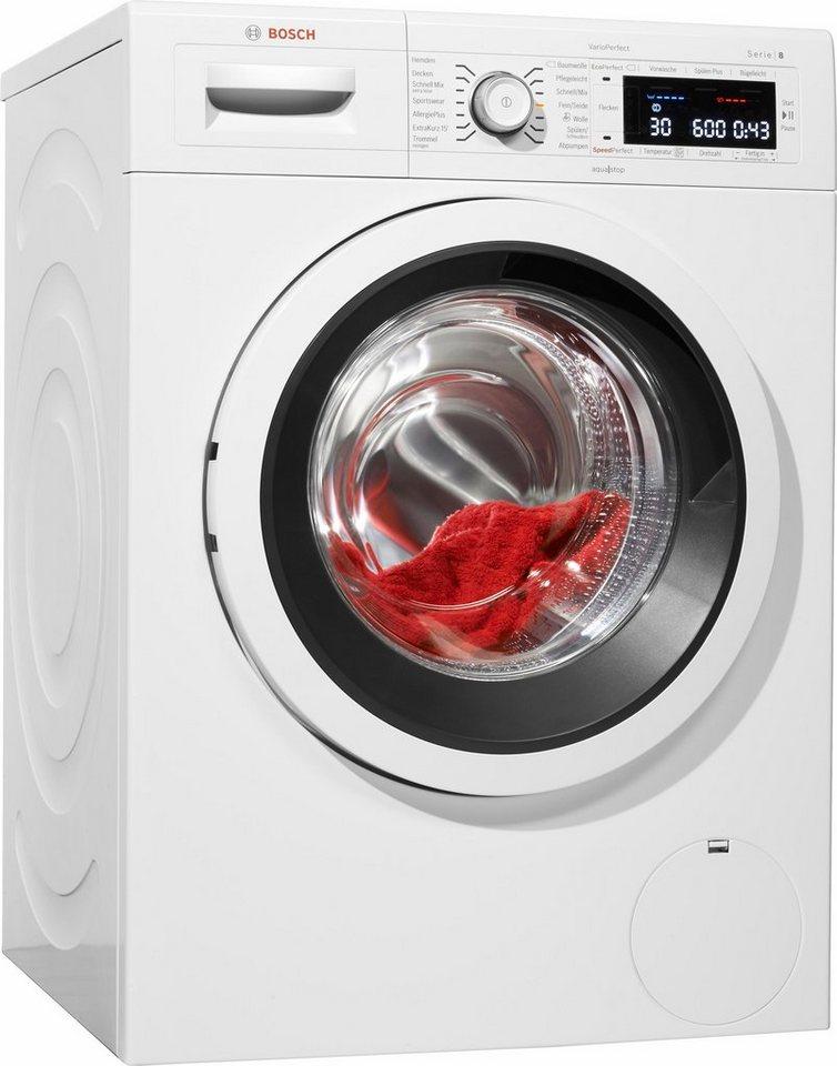 BOSCH Waschmaschine Serie 8 WAW28500, 9 kg, 1400 U/Min