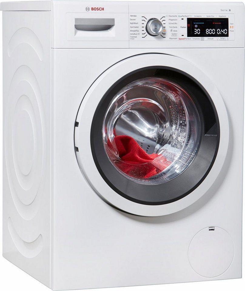 BOSCH Waschmaschine Serie 8 WAW285V0, 9 kg, 1400 U/Min