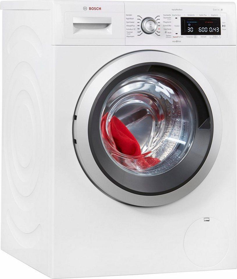 BOSCH Waschmaschine Serie 8 WAW32541, 8 kg, 1600 U/Min