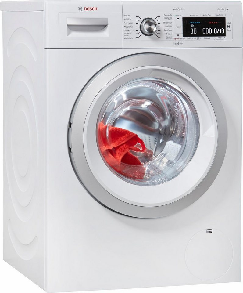 BOSCH Waschmaschine WAW28570, 8 kg, 1400 U/Min