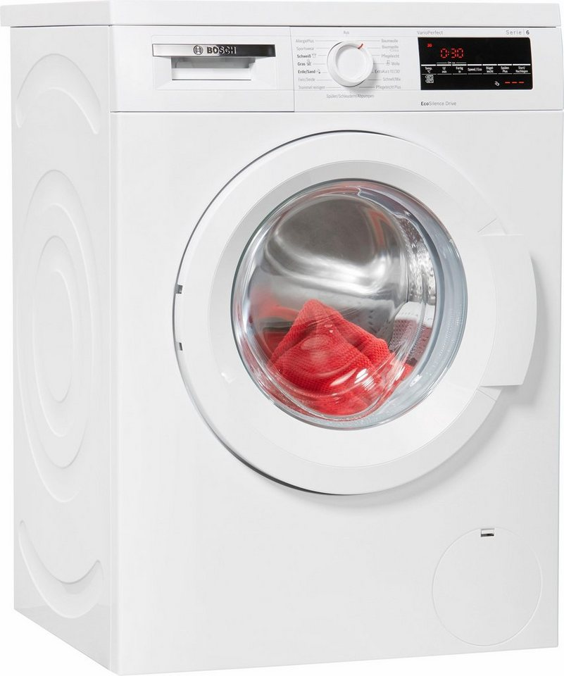 BOSCH Waschmaschine WUQ28420, 8 kg, 1400 U/Min