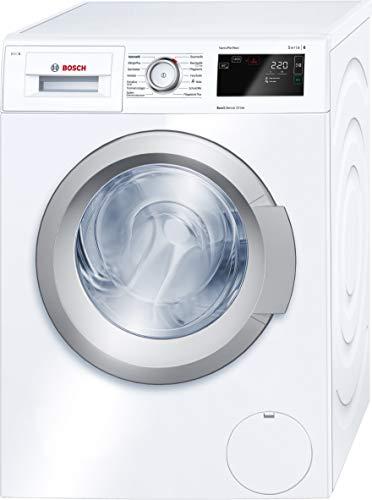 Bosch WAT28640 Serie 6 Waschmaschine Frontlader/A+++/8 kg/1400 U/min./intelligente Dosierautomatik i-DOS/EcoSilence Drive/weiß