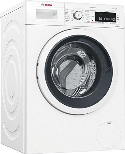 Bosch WAWH8550 Homeconnect Waschmaschine Frontlader / A+++ / 1400 UpM / Flecken-Automatik / Active Water Plus / HomeConnect / weiß