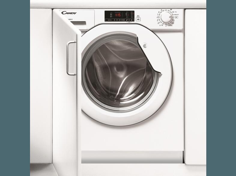 CANDY CBWM 814D-S Waschmaschine (8 kg, 1400 U/Min., A+++)