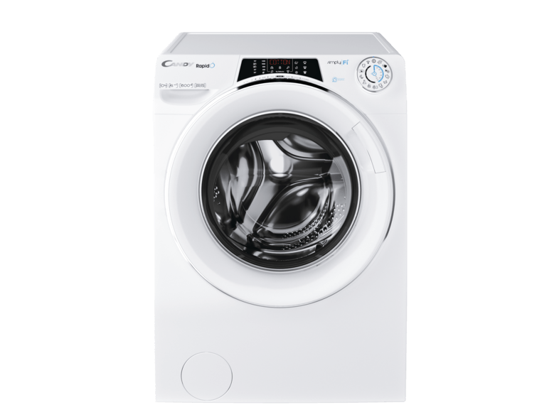 CANDY RO 16106DWHC7/1-S Rapid'O Waschmaschine (10 kg, 1600 U/Min., A+++)