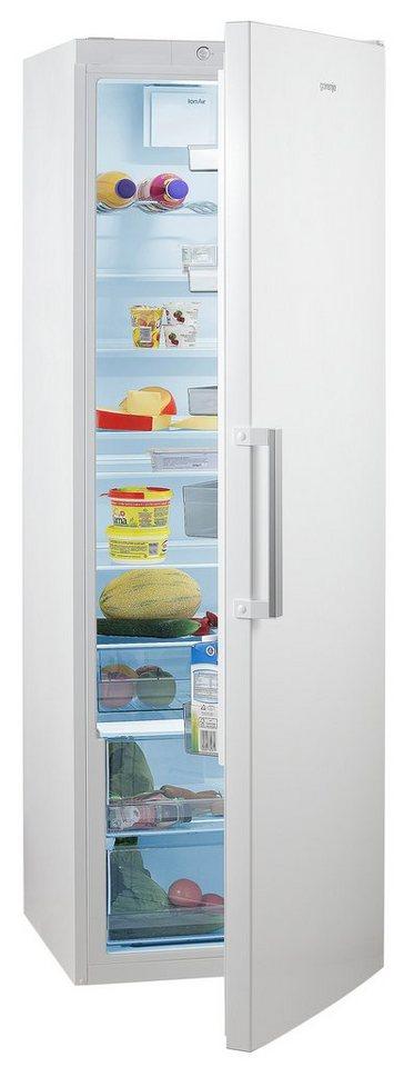 GORENJE Kühlschrank R 6192 FW, 185 cm hoch, 60 cm breit, Energieklasse A++, 185 cm hoch, FreshZone-Schublade, Großraum!