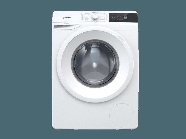 GORENJE W2E 74S3 P SLIM LINE Waschmaschine (7 kg, 1400 U/Min., A+++)