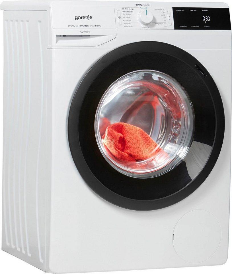 GORENJE Waschmaschine Wave EI 743 P, 7 kg, 1400 U/Min