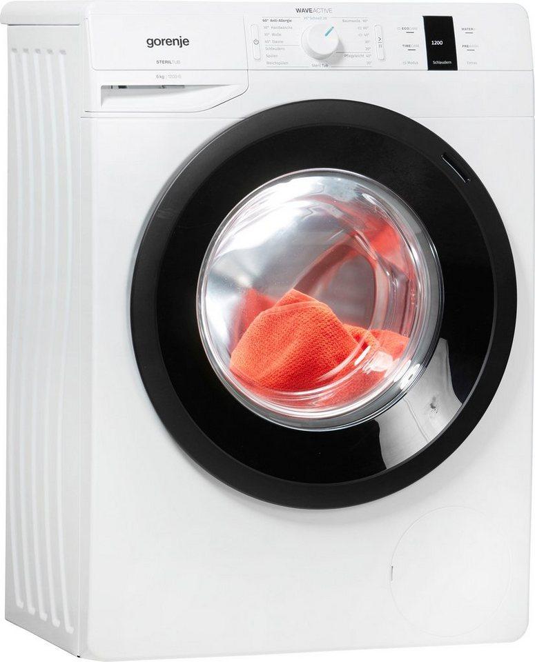 GORENJE Waschmaschine Wave P 62S3 P, 6 kg, 1200 U/Min