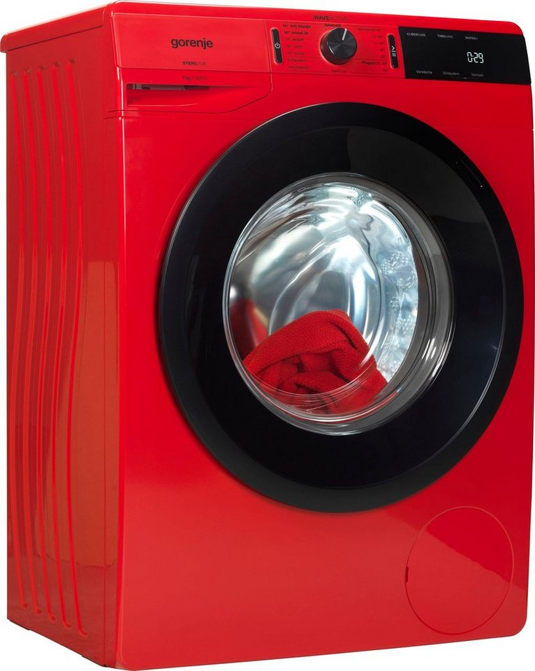 GORENJE Waschmaschine WE74S3PR, 7 kg, 1400 U/Min