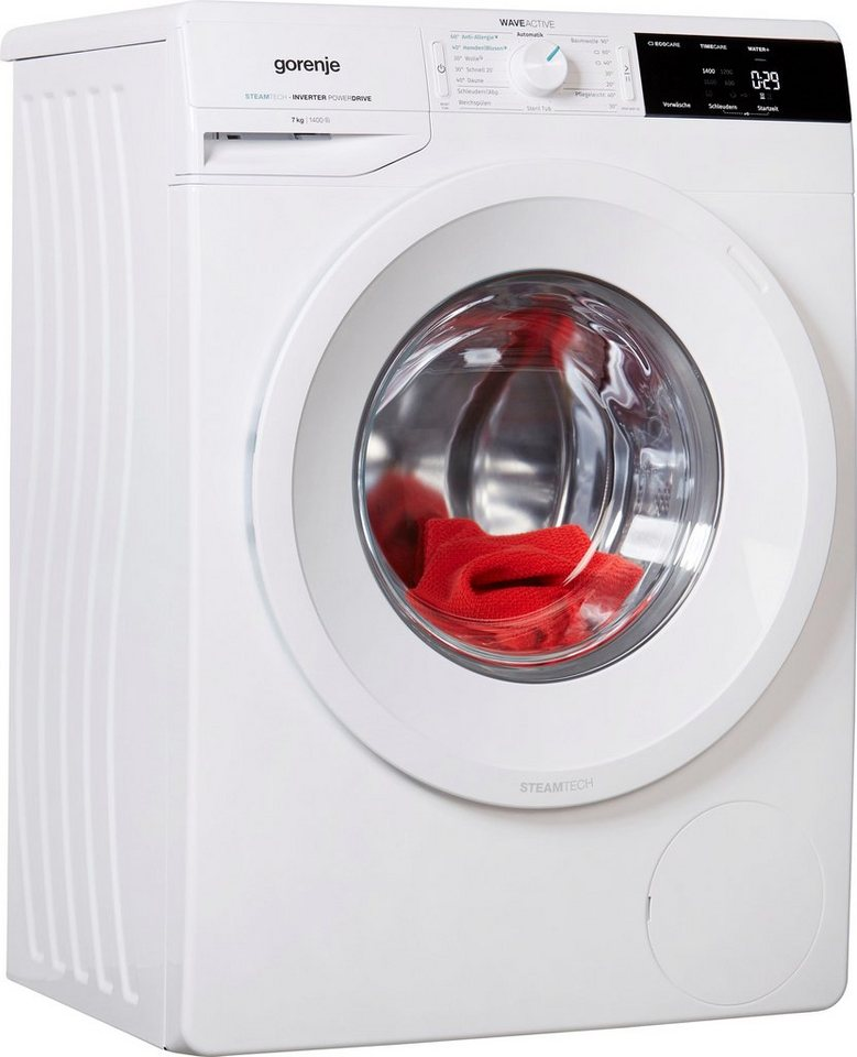 GORENJE Waschmaschine WEI74S3PS, 7 kg, 1400 U/Min
