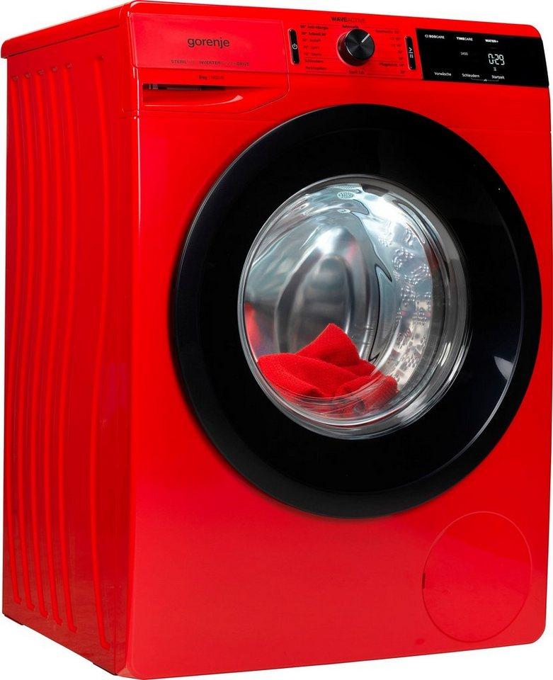 GORENJE Waschmaschine WEI843PR, 8 kg, 1400 U/Min