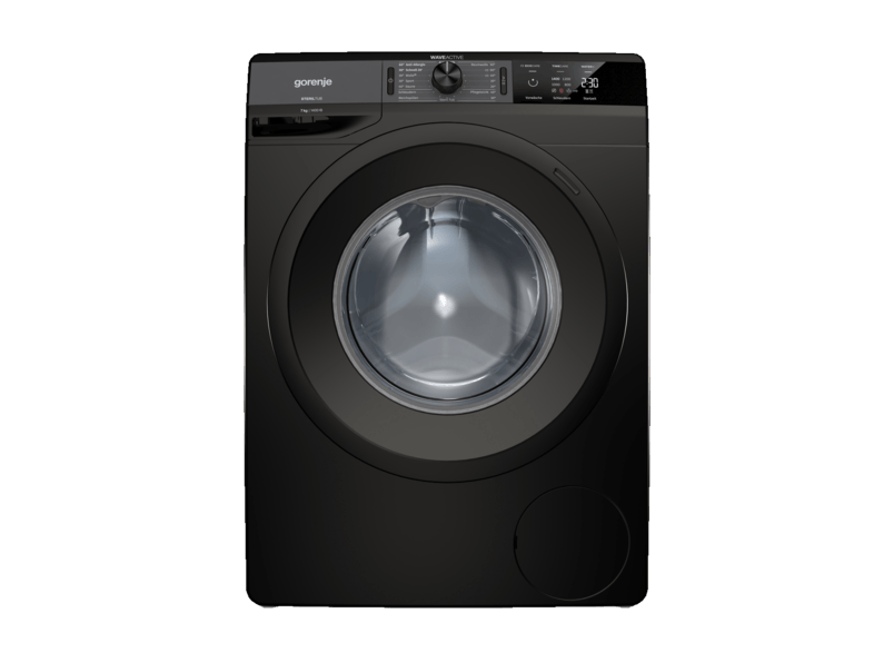 GORENJE WE 74S3PB Colour Edition Waschmaschine (7 kg, 1400 U/Min., A+++)