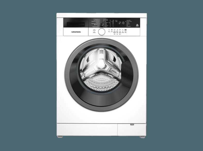 GRUNDIG GWA 38431 S Waschmaschine (8.0 kg, 1400 U/Min., A+++)