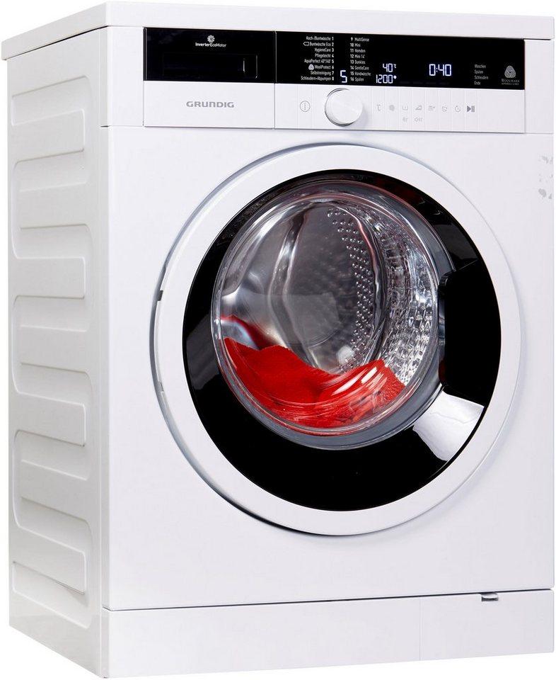 Grundig Waschmaschine Edition 70, 7 kg, 1400 U/Min