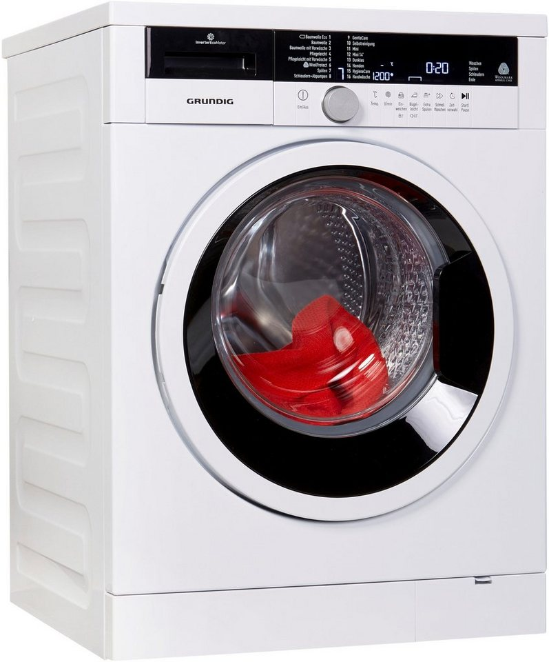 Grundig Waschmaschine GWA48630, 8 kg, 1600 U/Min