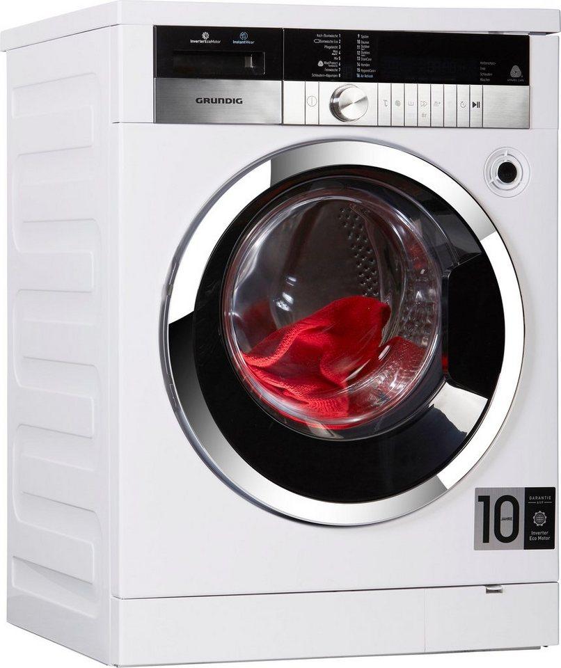 Grundig Waschmaschine GWN 48430 XIW, 8 kg, 1400 U/Min, 3 Jahre Herstellergarantie