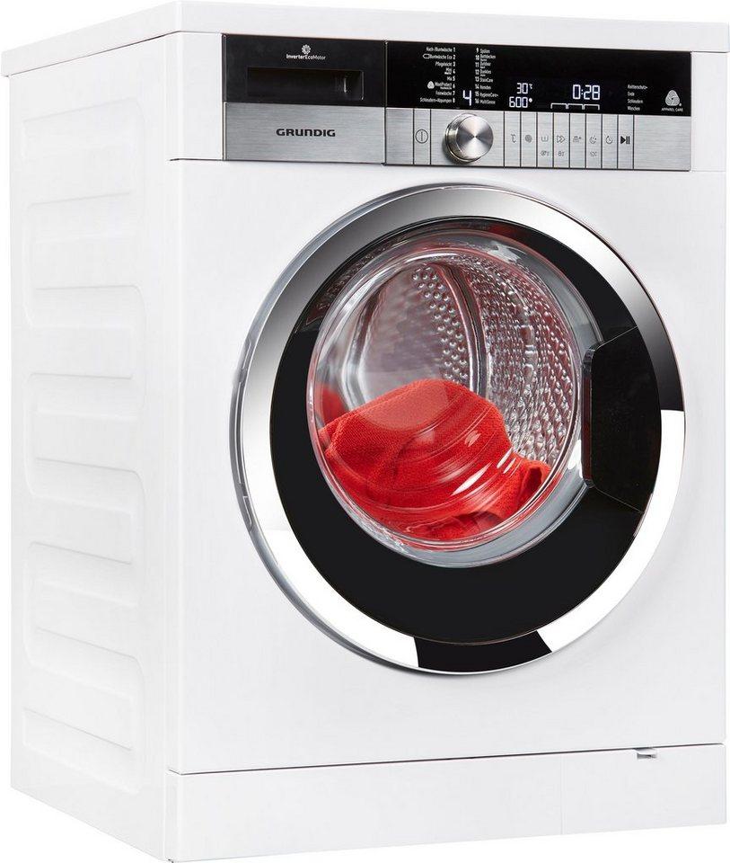 Grundig Waschmaschine GWN 4940 HC, 9 kg, 1400 U/Min