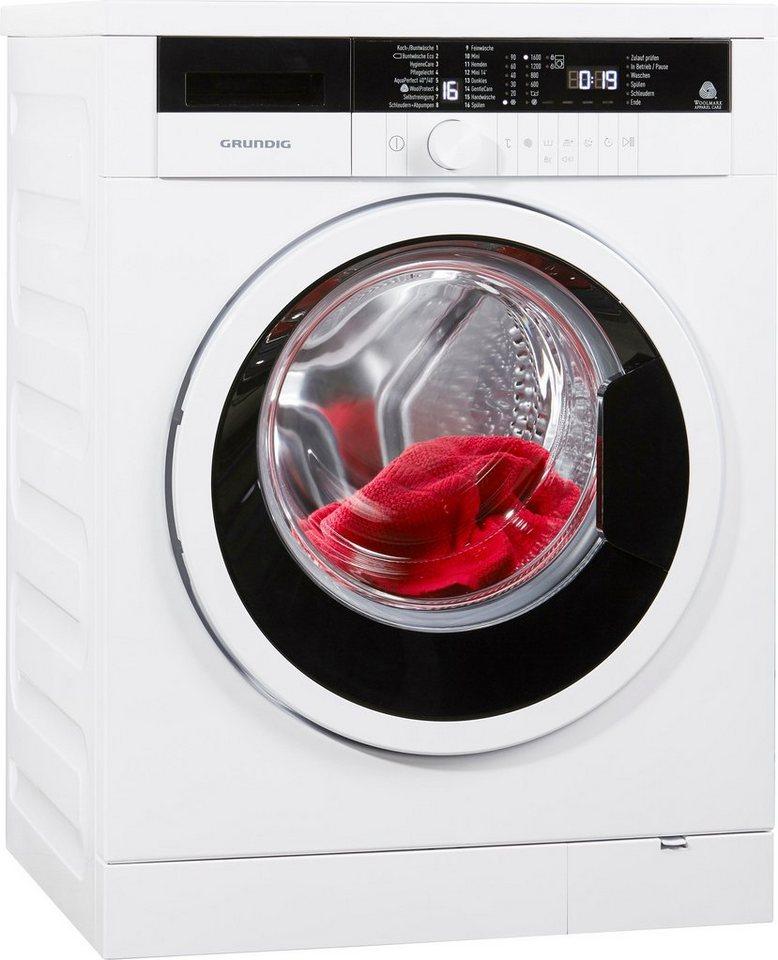 Grundig Waschmaschine GWN37631, 7 kg, 1600 U/Min
