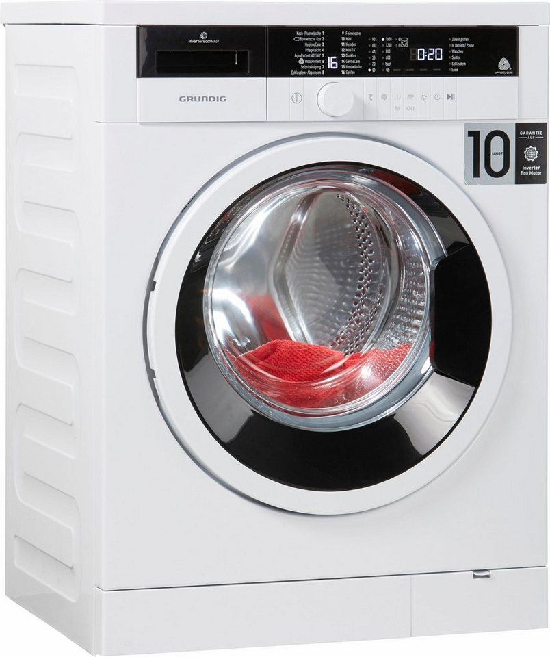Grundig Waschmaschine GWO 37630 WB, 7 kg, 1600 U/Min