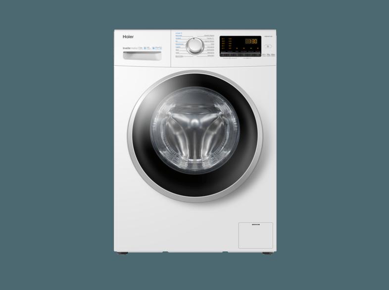 HAIER HW80-BP1439 Waschmaschine (8 kg, 1400 U/Min., A+++)