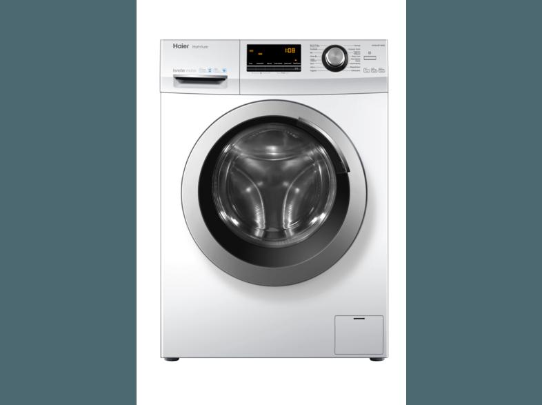 HAIER HW80-BP14636 Waschmaschine (8 kg, 1400 U/Min., A+++)