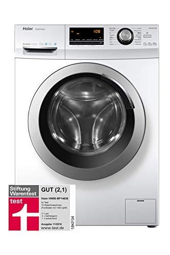 Haier HW80-BP14636 Waschmaschine Frontlader/A+++/8 kg/1400 UpM/Vollwasserschutz/weiß