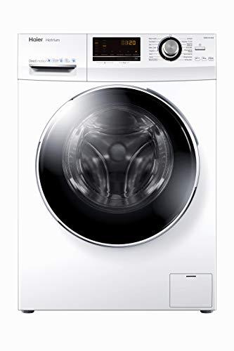 Haier HW90-B14636 Waschmaschine Frontlader / 9 kg/A+++ / 121 kWh / 1.400 UpM/Steam (Dampffunktion) / AquaProtect
