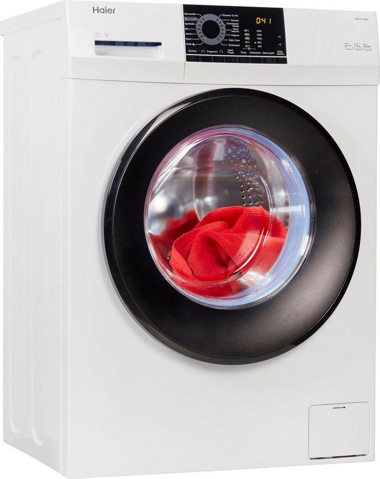 Haier Waschmaschine HW70-14829, 7 kg, 1400 U/Min