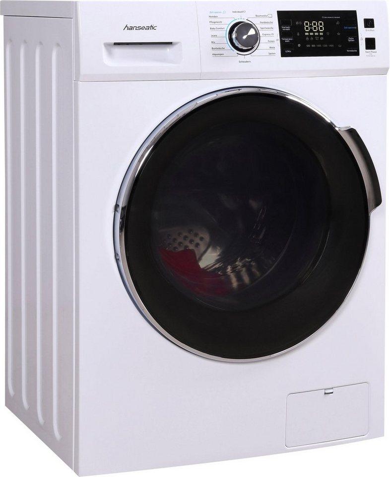 Hanseatic Waschmaschine HWMB814A3, 8 kg, 1400 U/Min