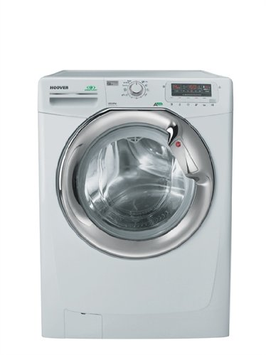Hoover DYN 9125DZG autonome Belastung Bevor 9kg 1200tr/min A + + + Weiß Waschmaschine-Waschmaschinen (autonome, bevor Belastung, weiß, links, silber, Knöpfe, drehbar)