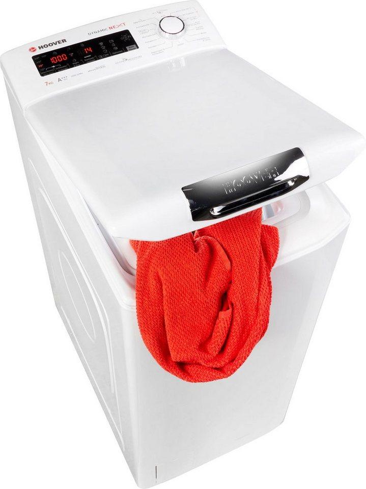 Hoover Waschmaschine Toplader HNFLS G474TAH, 7 kg, 1400 U/Min
