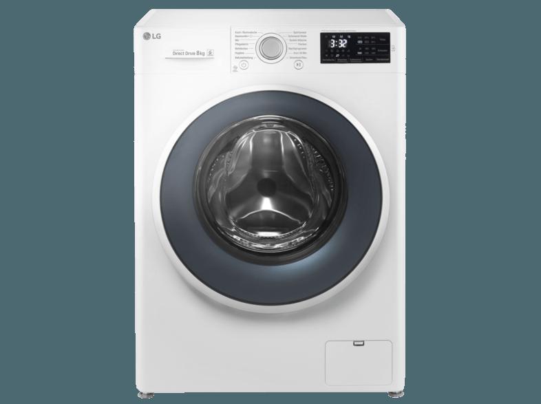 LG F 14 WM 8CN1 Waschmaschine (8 kg, 1400 U/Min., A+++)