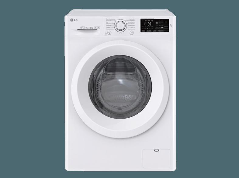 LG F 14WM 8LN0 Serie 3 Waschmaschine (8 kg, 1400 U/Min., A+++)