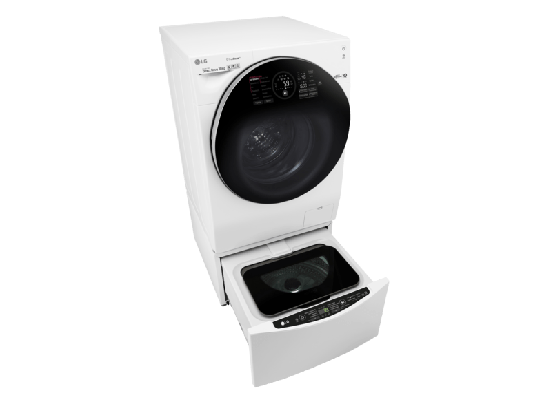 LG F 4WM 10TWIN (F 14WM 10GT + T 7WM 2Mini) TWINWash™ Serie Waschmaschine (, A+++)