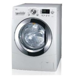 LG f1203fd autonome Belastung Bevor 9kg 1200tr/min A + Weiß Waschmaschine-Waschmaschinen (autonome, bevor Belastung, weiß, links, 180°, 9kg)