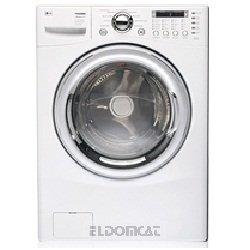 LG f1258fd autonome Bevor Belastung 15kg 1200tr/min Hat weiß Waschmaschine-Waschmaschinen (autonome, bevor Belastung, weiß, LED, 170°, Edelstahl)