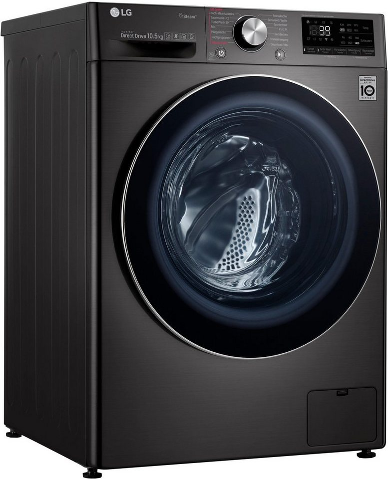 LG Waschmaschine 9 F4 WV 910P2, 10,5 kg, 1400 U/Min