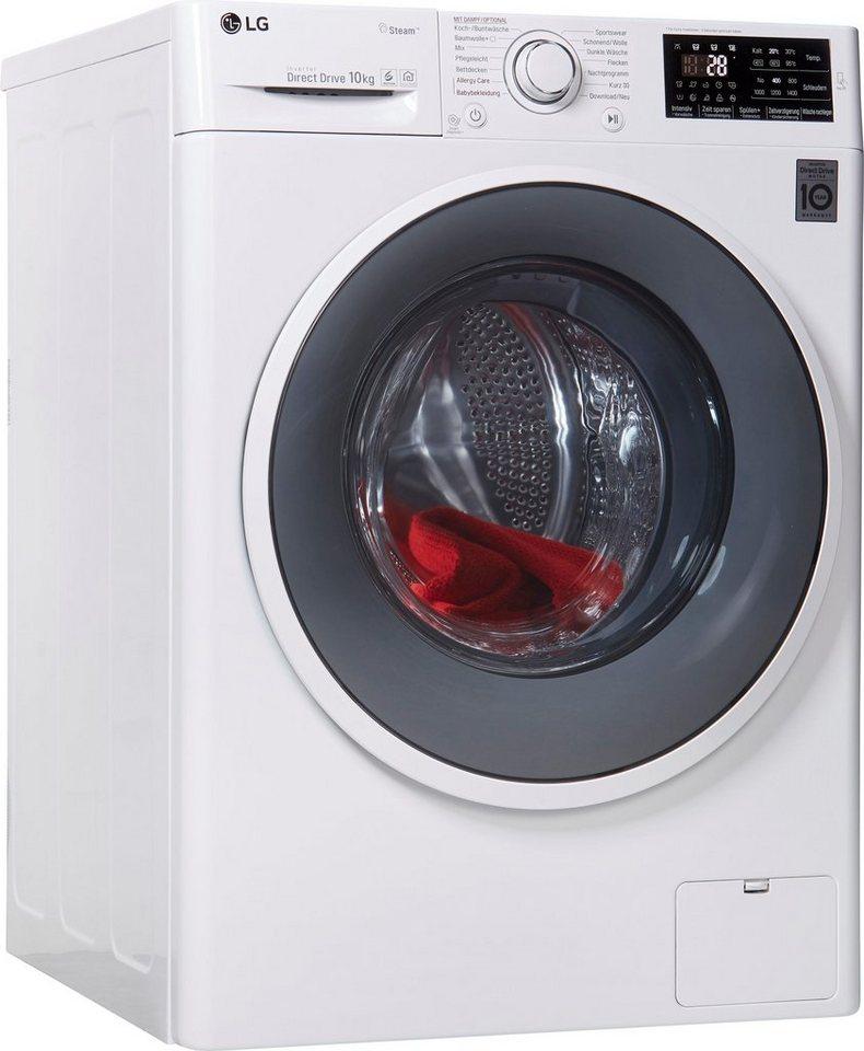 LG Waschmaschine F 14WM 10ES0, 10 kg, 1400 U/Min, mit Dampftechnologie